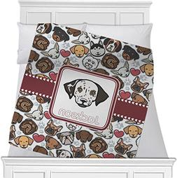 "RNK Shops Dog Faces Fleece Blanket - Queen/King - 90""x90"" -"