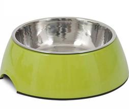 Petmate Dog Food and Water Bowl Large with Non Skid Bottom