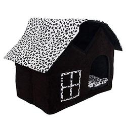 Dog House, Petforu Soft Plush Luxury British Style Pet Puppy