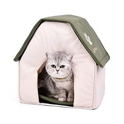 PAWZ Road Dog House For Medium and Small Pets Green Roof