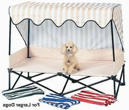 Dog Kot to Trot Senior Outside travel Bed shade patio toy te