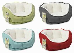 """Small Dog / Pet Bed, Brushed Plush, 18 X 12"""", Merchsource, 2"""