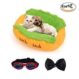 Hot Dog Design Pet Dog Bed ,Removable and Washable Pet Mat D