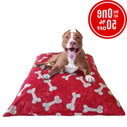 Dog Pet Bed Cover Replacement Breathable Washable Sizes Larg