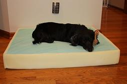 Memory Foam Dog Pet Bed Mattress Core with Gel, Large Size L