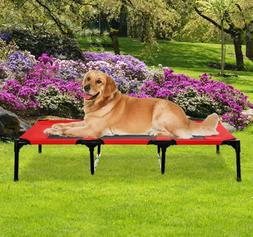 """XLarge 48"""" Dog Pet Cat Elevated Raised Bed Puppy Cot Oxford"""