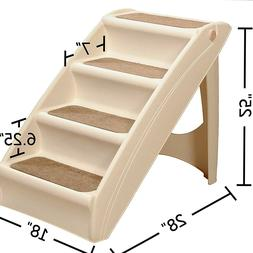 Dog Pet Ladder Bed Steps Portable Folding Stairs Extra Large