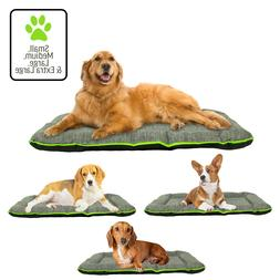 Dog Pet Mat Crate Pad Durable Waterproof Bed Small, Medium,