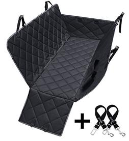 Dog Seat Covers, 600D Waterproof Pet Car Seat Covers with 2