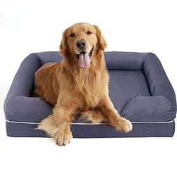 MD Group Dog Sofa Bed Memory Foam Comfortable Extra Large So