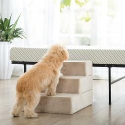 Dog Stairs Pet Ramp Ladder to get on High Bed for Small Cats