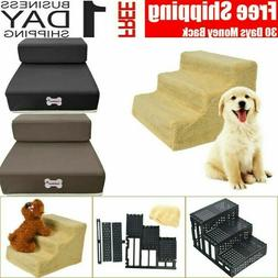 2/3 Dog Steps For High Bed  Steps Pet Stairs Small Dogs Cats