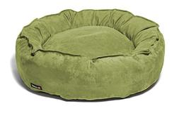 Dog Supplies Big Shrimpy Nest Bed - Medium / Walnut Suede