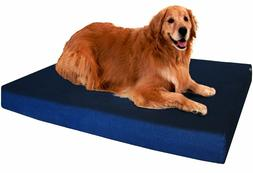 Dogbed4less Orthopedic Memory Foam Dog Bed for Small, Medium