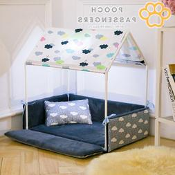 Pooch Passengers Doggie Gazebo Canopy Bed Indoor Dog House
