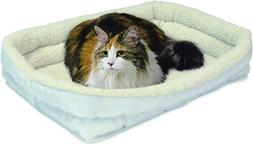 Double Bolster Pet Bed   24-Inch Dog Bed ideal for Small Dog