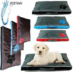 DOUBLE SIDED WATERPROOF DOG PET CAT BED MAT SOFT WARM CUSHIO