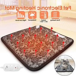 Electric Heating Mat Pet Dog Cat Puppy Thermal Cushion Pad W