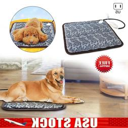 Electric Pet Heating Pad Blanket Mat Dog Bed Heated Cat Heat