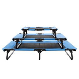 Elevated Camping Pet Cot Raised Dog Cat Lounger Bed Steel Fr
