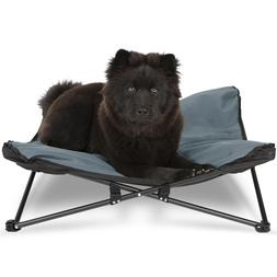 Elevated Dog & Cat Pet Bed for Outdoor Indoor Camping Hand W