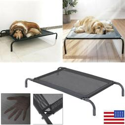 Elevated Dog Bed Pet Cot Large Pet Lounger Sleeper Hammock F