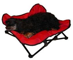 elevated napper cot space saver pet dog