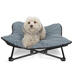 Paws & Pals Elevated Pet Bed for Dogs & Cats Outdoor Indoor