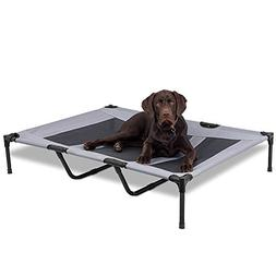 AikoPets Elevated Pet Bed for Large Dogs Cot Indoor Outdoor