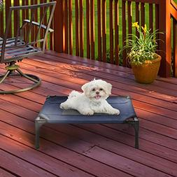 Elevated Pet Bed-Portable Raised Cot-Style Bed W/ Non-Slip F