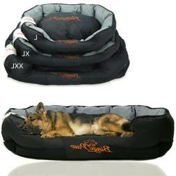 Extra Large Dog Bed Snuggle Pillow Pet Bed Waterproof Outsid