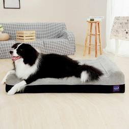 Extra Large Dog Bed Laifug Soft Memory Foam Orthopedic Durab