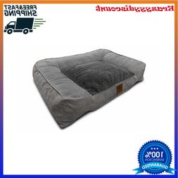 Extra Large Dog Bed Ultra Plush w/ Memory Foam Orthopedic Du