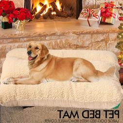 Extra Large  Medium Heavy Duty Pet Bed Mattress Dog Cat Pad