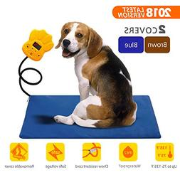 Large Pet Heating Pad 30W | Outdoor Indoor Electric Warmer f