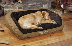 Orvis Field Collection Memory Foam Bolster Dog Bed/X-Large D