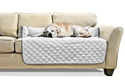 FurHaven Pet Furniture Cover | Sofa Buddy Reversible Furnitu