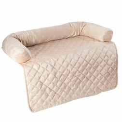 PETMAKER Furniture Protector Pet Cover with Bolster - Beige