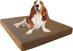 Gel Cooling Memory Foam Pad Dog Waterproof Pet Bed Extra Lar