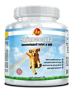 Glucosamine for Dogs and Cats - Joint and Hip Support Supple