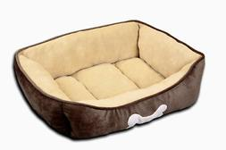 HappyCare Textiles HCT REC-002 Rectangle Classic Solid Dog a