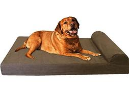 Dogbed4less Premium Head Rest Orthopedic Gel Cooling Memory