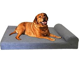 Dogbed4less Premium Extra Large Head Rest Orthopedic Cooling