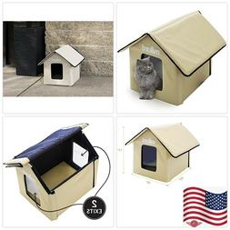 Milliard Heated Cat House, Outdoor Pet House Small Dog or Ki