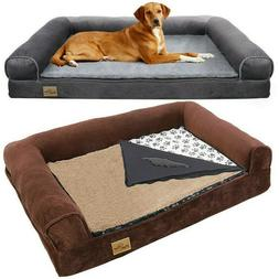 Heavy Duty Waterproof Pet Dog Bed Sofa Couch Cushion Lounger
