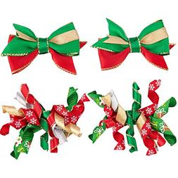 Blueberry Pet Pack of 4 Holiday Festival Fever Handmade Dog
