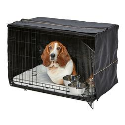 MidWest Homes for Pets Dog Crate Starter Kit | One 2-Door Cr