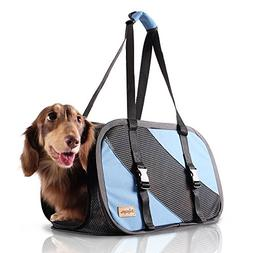 ibiyaya 2 in 1 Airline approved soft-sided pet traveling pur