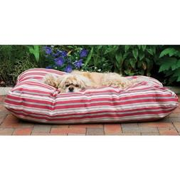 CPC Jamison Indoor/Outdoor Striped Bed for Pets, 42-Inch, Gr