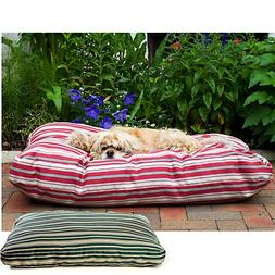 Cpc Jamison Indoor/Outdoor Striped Bed for Pets, 48-Inch, Gr